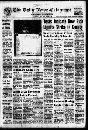 Primary view of object titled 'The Daily News-Telegram (Sulphur Springs, Tex.), Vol. 98, No. 252, Ed. 1 Sunday, October 24, 1976'.