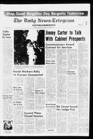 Primary view of object titled 'The Daily News-Telegram (Sulphur Springs, Tex.), Vol. 98, No. 289, Ed. 1 Tuesday, December 7, 1976'.