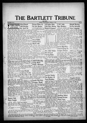 Primary view of object titled 'The Bartlett Tribune and News (Bartlett, Tex.), Vol. 86, No. 16, Ed. 1, Thursday, February 8, 1973'.