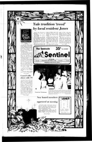 Primary view of object titled 'The Seminole Sentinel (Seminole, Tex.), Vol. 80, No. 16, Ed. 1 Wednesday, December 24, 1986'.