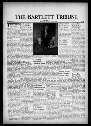 Primary view of object titled 'The Bartlett Tribune and News (Bartlett, Tex.), Vol. 86, No. 23, Ed. 1, Thursday, March 29, 1973'.