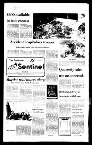 Primary view of object titled 'The Seminole Sentinel (Seminole, Tex.), Vol. 80, No. 10, Ed. 1 Wednesday, December 3, 1986'.