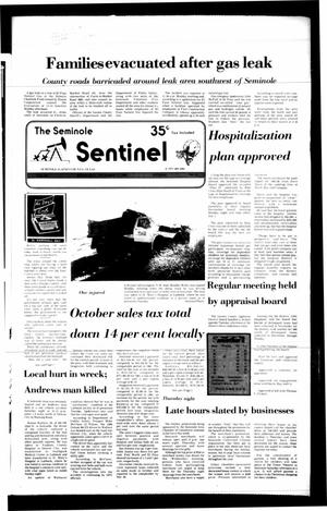 Primary view of object titled 'The Seminole Sentinel (Seminole, Tex.), Vol. 80, No. 14, Ed. 1 Wednesday, December 17, 1986'.