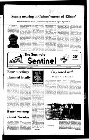 Primary view of object titled 'The Seminole Sentinel (Seminole, Tex.), Vol. 79, No. 83, Ed. 1 Sunday, August 17, 1986'.