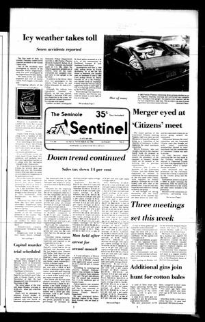 Primary view of object titled 'The Seminole Sentinel (Seminole, Tex.), Vol. 80, No. 5, Ed. 1 Sunday, November 16, 1986'.