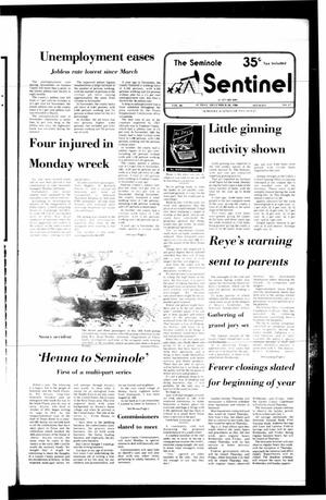 Primary view of object titled 'The Seminole Sentinel (Seminole, Tex.), Vol. 80, No. 17, Ed. 1 Sunday, December 28, 1986'.