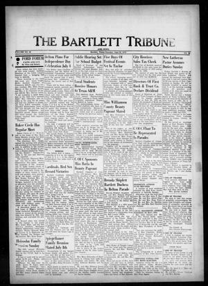 Primary view of object titled 'The Bartlett Tribune and News (Bartlett, Tex.), Vol. 86, No. 36, Ed. 1, Thursday, June 28, 1973'.