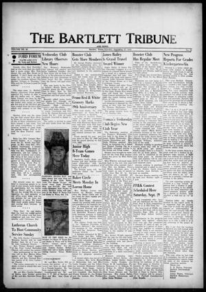 Primary view of object titled 'The Bartlett Tribune and News (Bartlett, Tex.), Vol. 86, No. 49, Ed. 1, Thursday, September 27, 1973'.