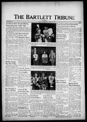 Primary view of object titled 'The Bartlett Tribune and News (Bartlett, Tex.), Vol. 87, No. 1, Ed. 1, Thursday, October 25, 1973'.