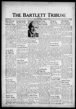 Primary view of object titled 'The Bartlett Tribune and News (Bartlett, Tex.), Vol. 87, No. 2, Ed. 1, Thursday, November 1, 1973'.