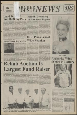 Primary view of object titled 'Archer County News (Archer City, Tex.), No. 27, Ed. 1 Thursday, July 7, 1994'.