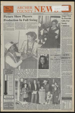 Primary view of object titled 'Archer County News (Archer City, Tex.), No. 48, Ed. 1 Thursday, December 2, 1993'.