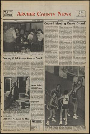 Primary view of object titled 'Archer County News (Archer City, Tex.), No. 4, Ed. 1 Thursday, January 23, 1986'.