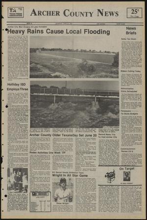 Primary view of object titled 'Archer County News (Archer City, Tex.), No. 24, Ed. 1 Thursday, June 13, 1985'.