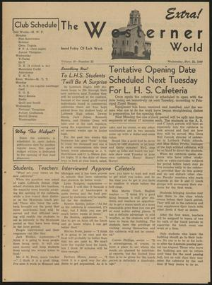 The Westerner World (Lubbock, Tex.), Vol. 16, No. 23, Ed. 1 Wednesday, November 23, 1949
