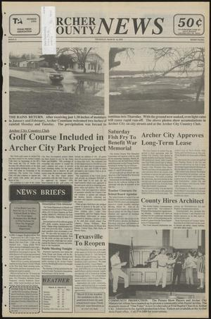 Primary view of object titled 'Archer County News (Archer City, Tex.), No. 11, Ed. 1 Thursday, March 16, 1995'.