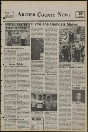 Primary view of Archer County News (Archer City, Tex.), No. 23, Ed. 1 Thursday, June 6, 1985
