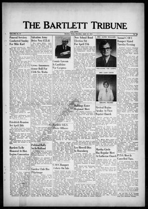 Primary view of object titled 'The Bartlett Tribune and News (Bartlett, Tex.), Vol. 87, No. 26, Ed. 1, Thursday, April 18, 1974'.