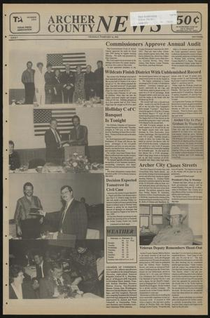 Primary view of object titled 'Archer County News (Archer City, Tex.), No. 7, Ed. 1 Thursday, February 16, 1995'.