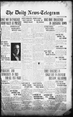 Primary view of object titled 'The Daily News-Telegram (Sulphur Springs, Tex.), Vol. 26, No. 145, Ed. 1 Tuesday, June 17, 1924'.