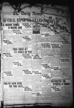 Primary view of The Daily News-Telegram (Sulphur Springs, Tex.), Vol. 28, No. 278, Ed. 1 Thursday, December 9, 1926