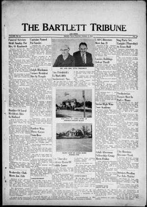 Primary view of object titled 'The Bartlett Tribune and News (Bartlett, Tex.), Vol. 88, No. 12, Ed. 1, Thursday, January 9, 1975'.
