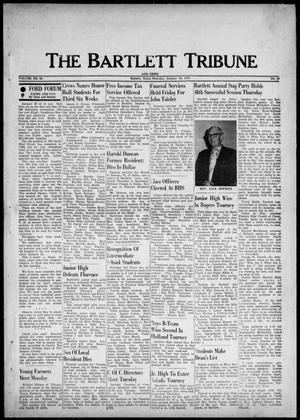 Primary view of object titled 'The Bartlett Tribune and News (Bartlett, Tex.), Vol. 88, No. 13, Ed. 1, Thursday, January 16, 1975'.
