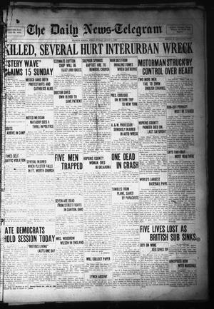 Primary view of object titled 'The Daily News-Telegram (Sulphur Springs, Tex.), Vol. 28, No. 176, Ed. 1 Monday, August 9, 1926'.