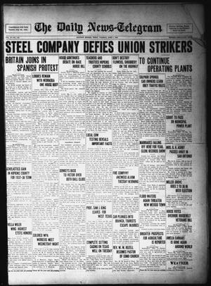 Primary view of object titled 'The Daily News-Telegram (Sulphur Springs, Tex.), Vol. 37, No. 130, Ed. 1 Tuesday, June 1, 1937'.
