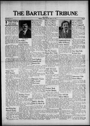 The Bartlett Tribune and News (Bartlett, Tex.), Vol. 89, No. 21, Ed. 1, Thursday, March 11, 1976