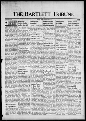 Primary view of object titled 'The Bartlett Tribune and News (Bartlett, Tex.), Vol. 89, No. 33, Ed. 1, Thursday, June 3, 1976'.