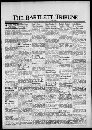Primary view of The Bartlett Tribune and News (Bartlett, Tex.), Vol. 89, No. 48, Ed. 1, Thursday, September 16, 1976