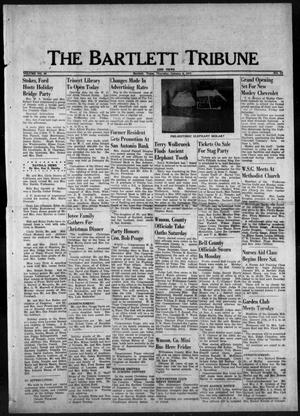Primary view of object titled 'The Bartlett Tribune and News (Bartlett, Tex.), Vol. 90, No. 12, Ed. 1, Thursday, January 6, 1977'.