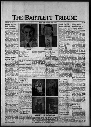 Primary view of object titled 'The Bartlett Tribune and News (Bartlett, Tex.), Vol. 90, No. 22, Ed. 1, Thursday, March 17, 1977'.
