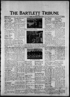 Primary view of object titled 'The Bartlett Tribune and News (Bartlett, Tex.), Vol. 90, No. 45, Ed. 1, Thursday, August 25, 1977'.
