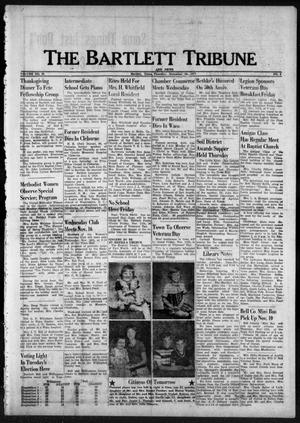 Primary view of object titled 'The Bartlett Tribune and News (Bartlett, Tex.), Vol. 91, No. 4, Ed. 1, Thursday, November 10, 1977'.
