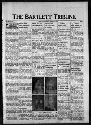 Primary view of object titled 'The Bartlett Tribune and News (Bartlett, Tex.), Vol. 91, No. 6, Ed. 1, Thursday, November 24, 1977'.