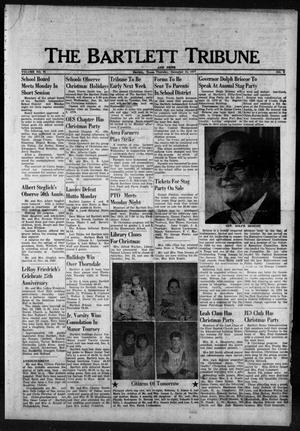 Primary view of object titled 'The Bartlett Tribune and News (Bartlett, Tex.), Vol. 91, No. 9, Ed. 1, Thursday, December 15, 1977'.