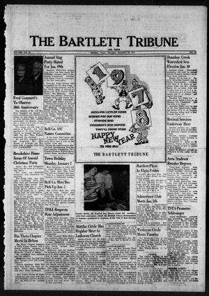 Primary view of object titled 'The Bartlett Tribune and News (Bartlett, Tex.), Vol. 91, No. 11, Ed. 1, Thursday, December 29, 1977'.