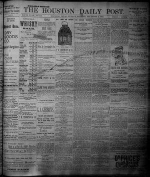 Primary view of object titled 'The Houston Daily Post (Houston, Tex.), Vol. NINTH YEAR, No. 241, Ed. 1, Sunday, December 3, 1893'.