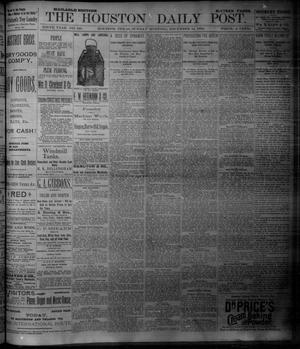 Primary view of object titled 'The Houston Daily Post (Houston, Tex.), Vol. NINTH YEAR, No. 248, Ed. 1, Sunday, December 10, 1893'.