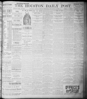 Primary view of object titled 'The Houston Daily Post (Houston, Tex.), Vol. NINTH YEAR, No. 253, Ed. 1, Friday, December 15, 1893'.