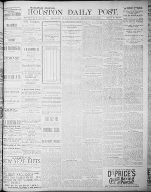 Primary view of object titled 'The Houston Daily Post (Houston, Tex.), Vol. NINTH YEAR, No. 264, Ed. 1, Tuesday, December 26, 1893'.