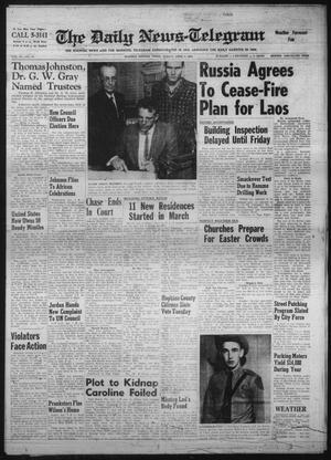 Primary view of The Daily News-Telegram (Sulphur Springs, Tex.), Vol. 83, No. 78, Ed. 1 Sunday, April 2, 1961