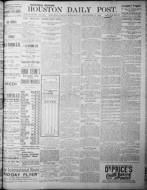 The Houston Daily Post (Houston, Tex.), Vol. NINTH YEAR, No. 265, Ed. 1, Wednesday, December 27, 1893