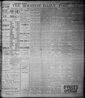Primary view of object titled 'The Houston Daily Post (Houston, Tex.), Vol. NINTH YEAR, No. 269, Ed. 1, Sunday, December 31, 1893'.