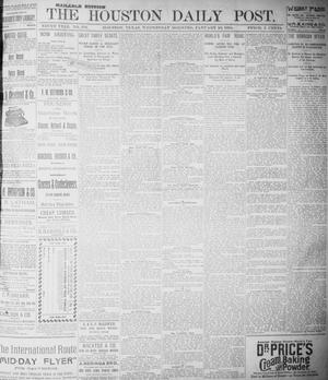 The Houston Daily Post (Houston, Tex.), Vol. NINTH YEAR, No. 279, Ed. 1, Wednesday, January 10, 1894