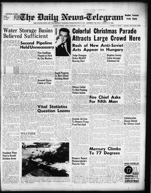 Primary view of object titled 'The Daily News-Telegram (Sulphur Springs, Tex.), Vol. 58, No. 288, Ed. 1 Wednesday, December 5, 1956'.