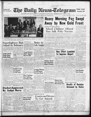 Primary view of object titled 'The Daily News-Telegram (Sulphur Springs, Tex.), Vol. 59, No. 24, Ed. 1 Tuesday, January 29, 1957'.