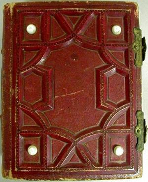 Primary view of object titled '[Red photo album]'.